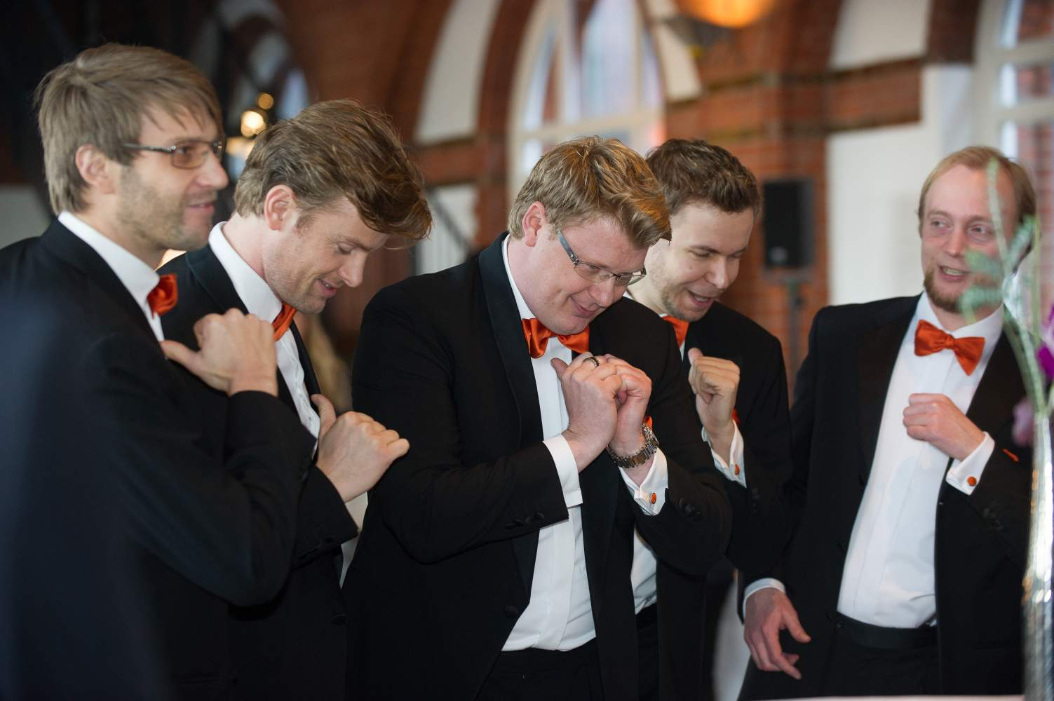 VØICEBUSTERS / | A-cappella Hamburg Comedy Sänger Walking-Act
